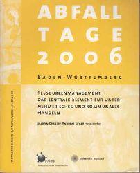 Kranert, Martin und Andreas Sihler:  Tagungsband Abfalltage Baden-Württemberg 2006.