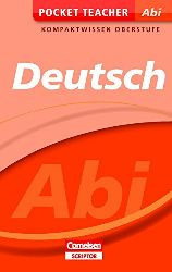 Peter, Kohrs:  Pocket Teacher Abi Deutsch: Kompaktwissen Oberstufe (Cornelsen Scriptor - Pocket Teacher)