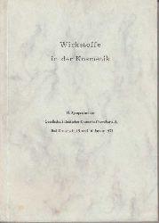 Wirkstoffe in der Kosmetik : 2. Symposium d. Ges. Dt. Kosmetik-Chemiker e. V., Bad Kreuznach, 15. u. 16. Jan. 1971.