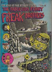 Shelton, Gilbert:  The Best of the Rip Off Press, Vol. II: The Fabulous Furry Freak Brothers.