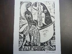 Hansen - Bahia, 19. April 1915 in Hamburg -  28. Juni 1978 in São Paulo, Brasilien; eigentlich Karl-Heinz Hansen Frauen beim Baden