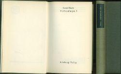 Bloch, Ernst.  Verfremdungen I. und II.