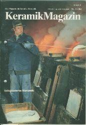 Weiß, Gustav.Hrsg.  Keramik Magazin Nr. 3/1983. Salzglasierte Keramik.