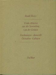 Beuys, Joseph.  Frühe Arbeiten aus der Sammlung van der Grinten. Zeichnungen. Aquarelle. Ölstudien. Collagen.