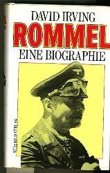 Irving, David.  Rommel. Eine Biographie. Aus dem Englischen von Richard Giese.