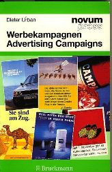 Urban, Dieter.  Werbekampagnen. Advertising Campaigns. Text: Englisch-Deutsch.