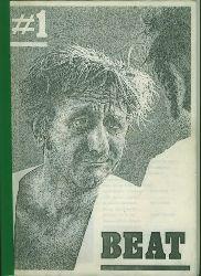 Wintjes, Biby. Hrsg.  BEAT Nr. 1. Die kleine Szene-Zeischrift der Nach-Bukowski-Aera.
