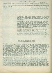 Svergiges Arbetares Centralorganisation (Freiheitliche Syndikalisten). Hrsg.  Informationen Oktober 1958. Stockholm.