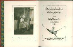 Kempin, Lely.  Haubenlerches Kriegsferien. Mit Bildschmuck nach Photographien der Verfasserin.