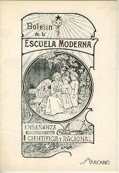 Ensenanza scientifica y racional  BOLETIN DE LA ESCUELA MODERNA