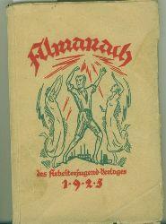Almanach.  des Arbeiterjugend-Verlages 1925.