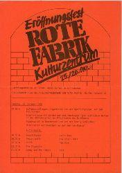 Konvolut  von 15 Flugblätter und Flugschriften aus der Schweiz um 1980-1982.