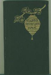 Klabund (d.i. Alfred Henschke).  Chinesiche Lyrik.