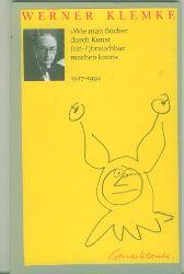Klemke, Werner.  Wie man Bücher durch Kunst (un-?)brauchbar machen kann 1917-1994.