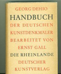 Dehio, Georg.  Handbuch der Deutschen Kunstdenkmäler. Die Rheinlande.
