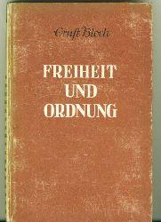 Bloch, Ernst.  Freiheit und Ordnung. Abriss der Sozial-Utopien.
