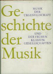Musik der Urgesellschaft und der frühen Klassengesellschaften.  Herausgegeben von Ernst H. Meyer.
