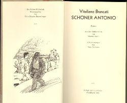 Brancati, Vitaliano.  Schöner Antonio. Roman. Aus dem Italienischen von Arianna Giachi. Mit Zeichnungen von Hans Hillmann.