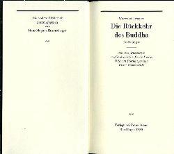 Iwanow, Wsewolod.  Die Rückkehr des Buddha. Erzählungen. Aus dem Russischen von Günter Dalitz, Erwin Honig, Wilhelm Plackmeyer und Dieter Pommerenke.