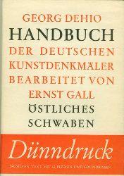 Dehio, Georg.  Handbuch der Deutschen Kunstdenkmäler. Östliches Schwaben.