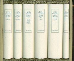 Lichtenberg, Georg Christoph.  Schriften und Briefe in 4 Bände und 2 Kommentarbände. Hrsg. von Wolfgang Promies.