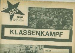 883.  Nr. 74 vom 15.1.1971. KLASSENKAMPF.