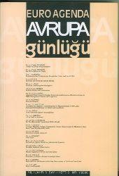 Avrupa günlügü : alti aylik sosyal bilimler dergisi = Euro Agenda  Halbjährliche Zeitschrift für Sozialwissenschaften. Heft 8. Deutsch-Türkisch.