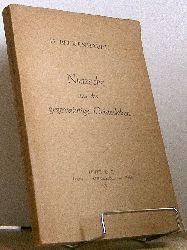 Beckenhaupt, Diana:   Nietzsche und das gegenwärtige Geistesleben.