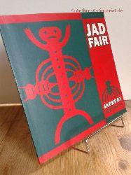 "Jad Fair:   Jackpot songs & art by Jad Fair.  Buch mit SCHALLPLATTE, Vinyl 7"", Single. A1 One Tiny Fly. B1 Shannon."
