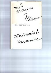 Mann, Thomas / Mann, Heinrich (Hg. Deutsche Akademie der K�nste)  Briefwechsel 1900 - 1949.