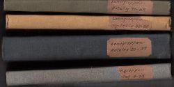 Deutsche Arbeitsfront, Zentralbüro Fachamt Eisen und Metall, Reichsgruppe Industrie, Fachgemeinschaft Eisen- und Metallindustrie (Hg.)  Lohngruppenkatalog für die Eisen-, Metall- und Elektroindustrie. Lohngruppen-Katalog Eisen und Metall. LKEM 0-1 bis LKM 85-5.