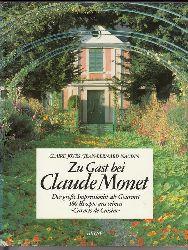 "Joyes, Claire / Naudin, Jean-Bernard  Zu Gast bei Claude Monet. ""Der große Impressionist als Gourmet. 180 Rezepte aus seinen """"Carnets de Cuisine""""."""