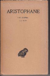"""""""Aristophane (Texte établi: Victor Coulon; Traduction: Hilaire van Daele)""""  Les guèpes. La paix. Aristophane, Tome II."""