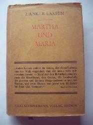 Larsen, J.Anker  Martha und Maria