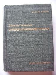 E.Merck AG Darmstadt (ed.)  Chemisch-technische Untersuchungsmethoden für die Textilindustrie