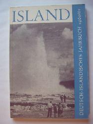 Adenauer, Max / Dreyer-Eimbcke, Oswald et.al. (eds.)  Island. Deutsch-isländisches Jahrbuch 1960/61