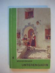 Beyeler, Otto (Redaktion) / Tgetgel, Heinrich (Bearbeitung)  Schweizer Wanderbuch 4.  Unterengadin. Samnaun. Münstertal. Routenbeschreibungen von 40 Wanderwegen, 9 Gernwanderwegen.