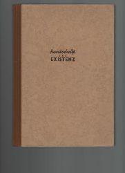 Daim, Wilfried  Handschrift und Existenz.