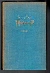Tügel, Ludwig  Pferdemusik. Roman.