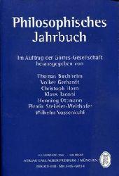 Buchheim, Thomas u.a. (Hrsg):  Philosophisches Jahrbuch. 112. Jahrgang 2005, 1. Halbband. Im Auftrag der Görres-Gesellschaft herausgegeben.