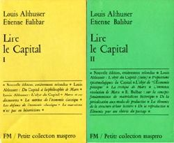 Althusser, Louis / Balibar, Etienne:  Lire le Capital. 2 vol.
