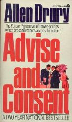 Drury, Allen:  Advise and Consent.