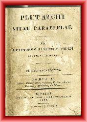 Plutarch  Plutarchi vitae parallelae. Ad optimorum librorum fidem. Tomus II.