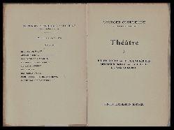 Courteline, Georges  Théâtre I