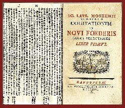 Mosheim, Johann Lorenz  Cogitationum in novi foederis locos selectiores. Liber primus.