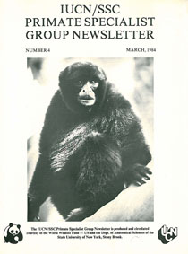IUCN/SSC Primate Specialist Group  Primate Specialist Group Newsletter, Nr. 4, March 1984