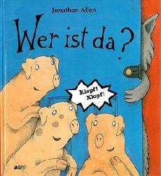 """""""Allen, Jonathan; Inhauser, Rolf (Ãœbers.)""""  Wer ist da ?"""