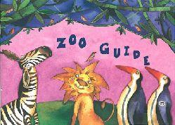 Zoo Gdansk, Polen  Przewodnik po zoo (gemalte Tiere)