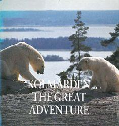 Zoo Kolmarden  Faltblatt mit Lageplan innen (Eisbären) inkl. Jahresinfo 1990