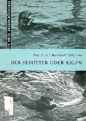 Barabasch-Nikiforow, I. I.  Der Seeotter oder Kalan. Enhydra lutris L. (Neue Brehm-Bibliothek, Heft 290)